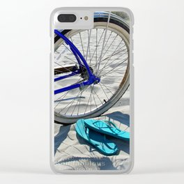 flipflopbike Clear iPhone Case