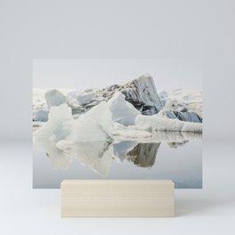 Icebergs XII Mini Art Print