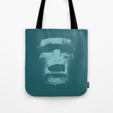 Maoi Head Tote Bag