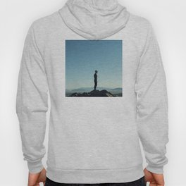 Alone in the blue summit Hoody