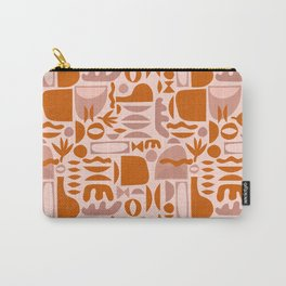 Mid Century Nomade Shapes Carry-All Pouch