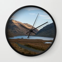Doo Lough Pass (Black Lake)  Wall Clock