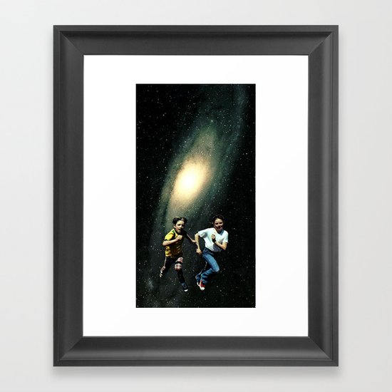 kid a Framed Art Print