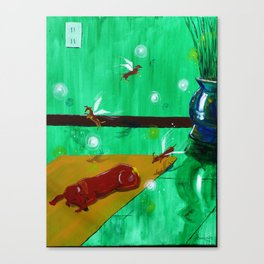 Weenie Fairies Canvas Print