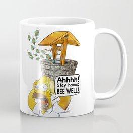 Stay Home Bee Well Coffee Mug