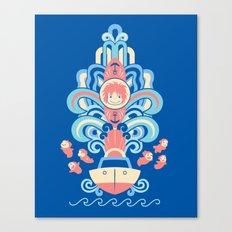 Ponyo Deco Canvas Print