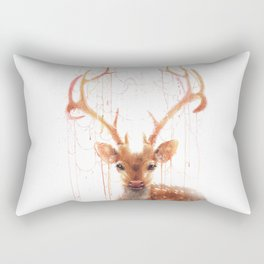 Fairy Deer Rectangular Pillow