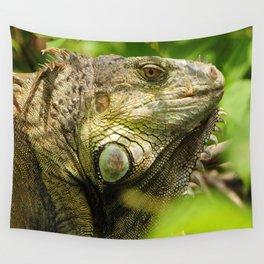 Costa Rican Iguana Wall Tapestry