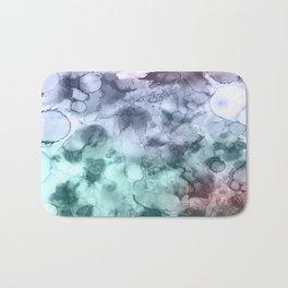 Cheer up - Mixed media ink painting Bath Mat
