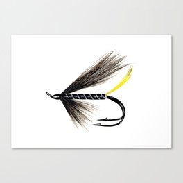 Stoat's Tail Fishing Fly Canvas Print
