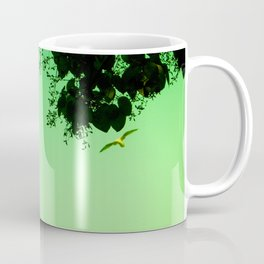 Flying Seagull Coffee Mug