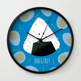Onigiri Wall Clock