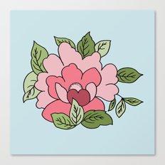 Antique Flower Canvas Print
