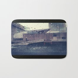 Droplets On Boston Harbor Bath Mat
