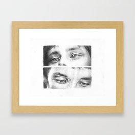 Arthur and Merlin Framed Art Print
