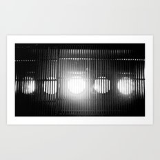 Let the light shine through. Art Print