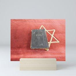 Religious torah book ancient classics Mini Art Print