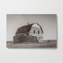 Barn House, Wells County, North Dakota 13 Metal Print
