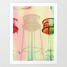 opg water tower Art Print
