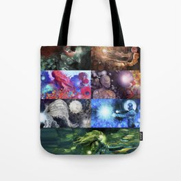 Holst's The Planets Tote Bag