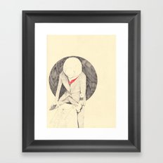 The English Manatee Framed Art Print