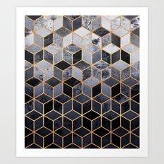 Daydream Cubes Art Print