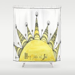 HOY SALE EL SOL II Shower Curtain