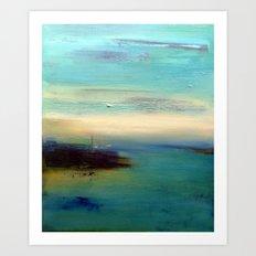 dream of sea Art Print