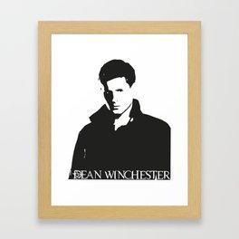 Dean Winchester Framed Art Print