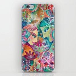 Divine Union by Justine Aldersey-Williams iPhone Skin