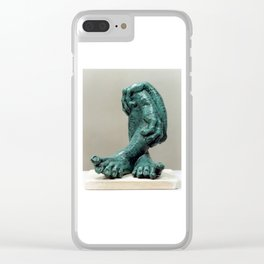 Green Organs by Shimon Drory Clear iPhone Case
