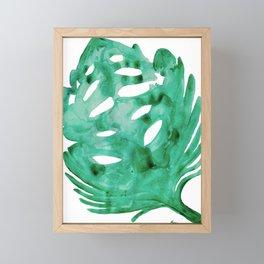 Banana Leaf Framed Mini Art Print