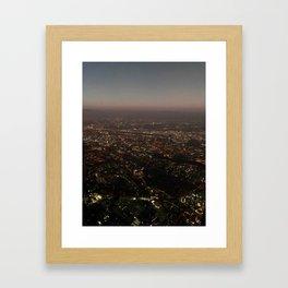 Above San Jose Framed Art Print