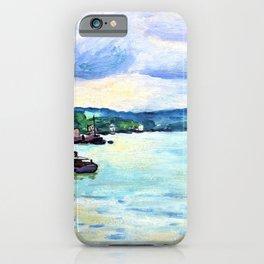 The Seine, around Rouen - Digital Remastered Edition iPhone Case