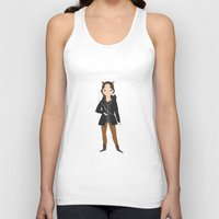 katniss Tank Tops featuring Katniss by Aprilled