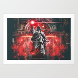 Necromancer Art Print