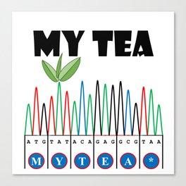 Sangerism - My Tea Canvas Print