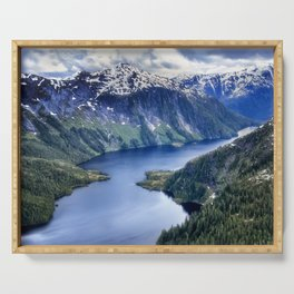 Misty Fiords National Monument Serving Tray