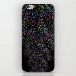 Dark Textured Pattern iPhone Skin