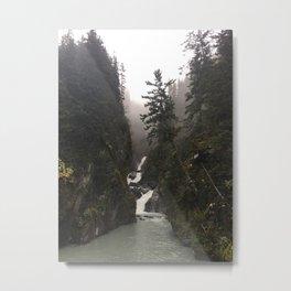 Solomon Gulch Falls Metal Print
