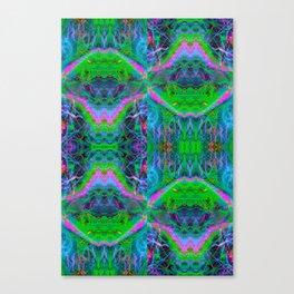 Techno Electric II (Ultraviolet) Canvas Print