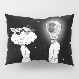 Day Dreamer Meets Night Thinker Pillow Sham