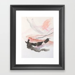 Day 25: The natural beauty of one thing leading to another. Framed Art Print