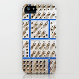 KNOBS AND HOLES iPhone Case
