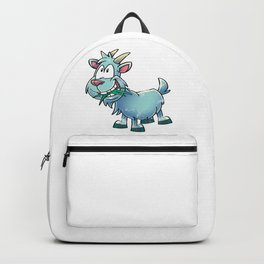 Goat Cute Backpack