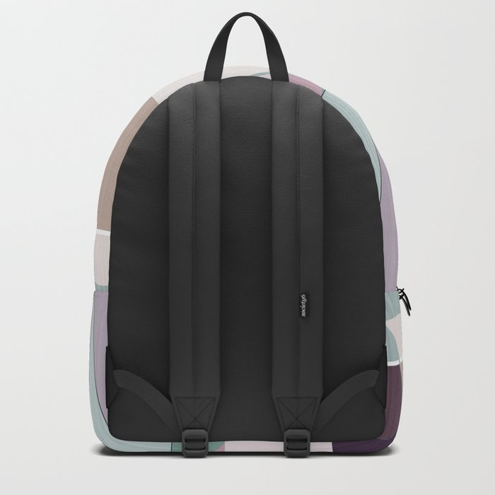Pastel tone . Abstraction . Backpack
