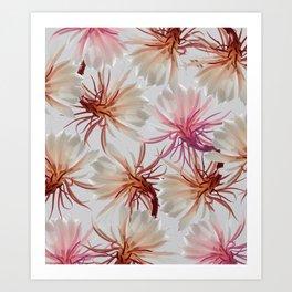 Brahma Lotus Art Print