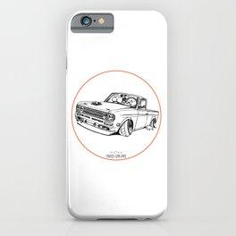 Crazy Car Art 0188 iPhone Case