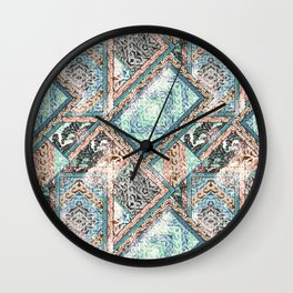 HAZY CARPET Wall Clock