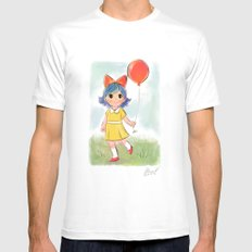 balloon makes a day Mens Fitted Tee MEDIUM White